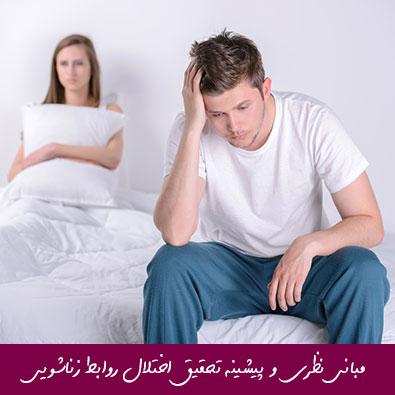 مبانی نظری و پیشینه تحقیق اختلال روابط زناشویی